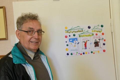 Eduard Tüür avab Kuke galeriis näituse. ARVO TARMULA