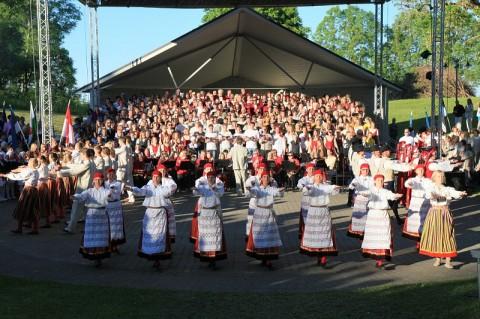 Läänemaa laulupidu 2011 Lihulas