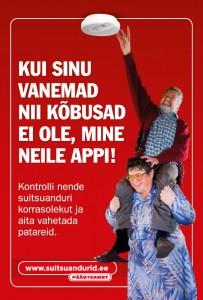 Kuigi läänlased Maie ja Jüri Matvei juhtisid 2011. aasta päästeameti  kampaaniaplakatitel tähelepanu suitsuanduritele, puudub paljudes Läänemaa kodudes suitsuandur siiani.