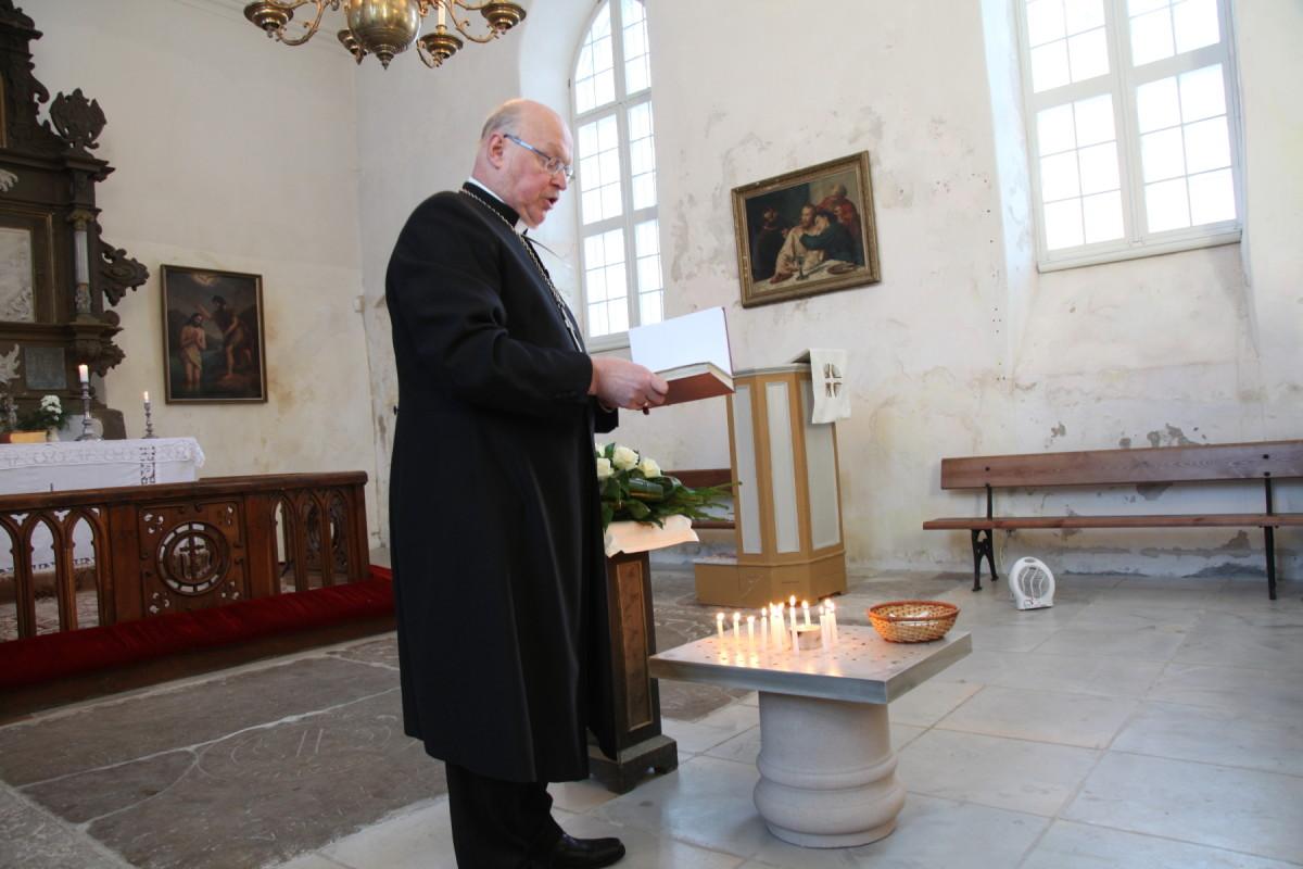 Mälestusteenistus Jaani kirikus