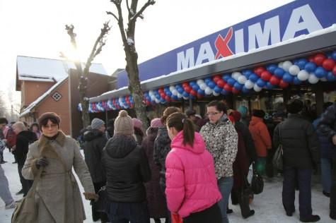 Maxima avamine Haapsalus veebruaris 2012. Foto: Arvo Tarmula