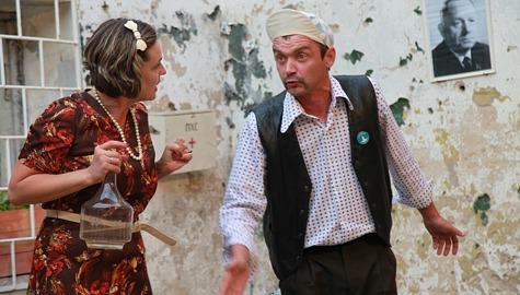 """Gerda Raidla ja Indrek Pangsepp """"Limonaadi Etsis"""". Foto: Arvo Tarmul /arhiiv"""