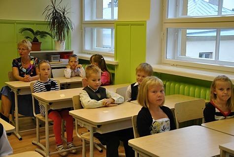 1. september algkoolisFoto: Helen Viispert