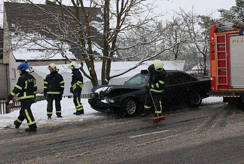 Avarii Tallinna maanteel