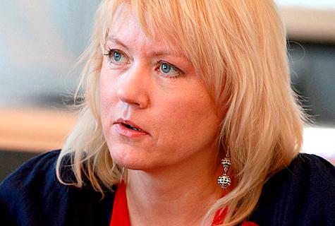 Sotsiaaldemokraat Rea Raus kandideerib sügisel Haapsalus Keskerakonna nimekirjas. Foto: Arvo Tarmula