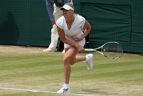 Kaia Kanepi Wimbledoni turniiril