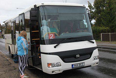 Buss nr 2. Foto: Arvo Tarmula