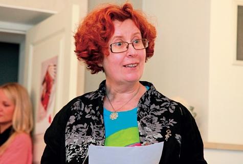 """Krista Kumbergilt on ilmumas neljas lasteraamat väikelastele pealkirjaga """"Linda ja nööp"""". Foto: Arvo Tarmula"""
