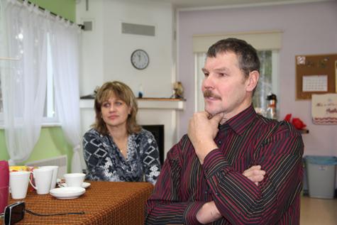 Helvia ja Aivar Orumaa. Foto Arvo Tarmula