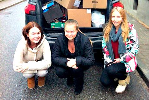 Vasakult Elisabet Kalamees, Merilin Serg ja Karolin Kumel. Foto: Erakogu