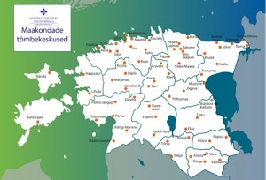 Maakondade tõmbekeskused
