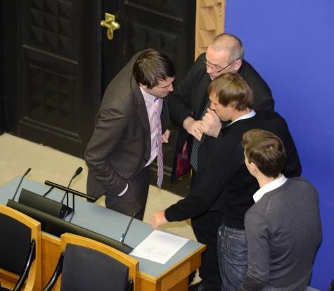 Riigikogus moodustati Haapsalu raudtee toetusrühm. Foto: Riigikogu