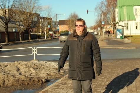 Tapio Mäkeläineni soomekeelne Haapsalu ja Läänemaa reisijuht ilmub mais. Foto: Urmas Lauri