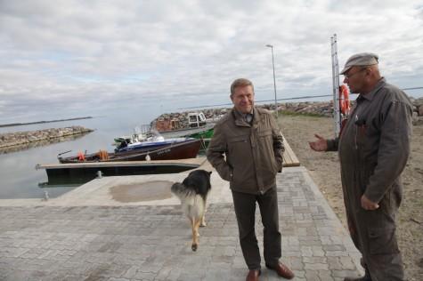 Aleksander Mihelson (keskel) Foto: Arvo Tarmula