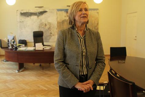 Kultuuriminister Urve Tiidus. Foto: Küllike Rooväli