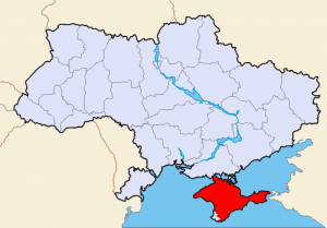 Venemaa president Vladimir Putin andis allkirja seadustele Krimmi vabariigi ja Sevastopoli võtmisest Venemaa koosseisu ning Vene Föderatsiooni kahe uue subjekti moodustamisest. Kaart: Vikipeedia