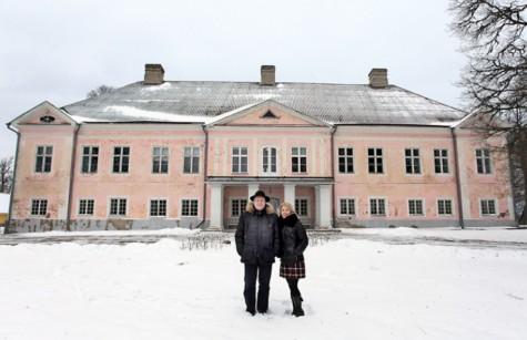Suure-Lähtru mõis ja mõisaomanikud. Foto: Arvo Tarmula