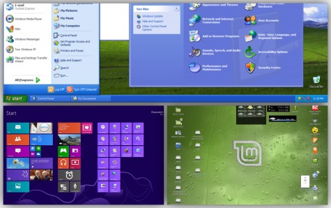 Kas sedistada arvutisse Windows XP asemel Windows 8.1 või hoopis Linux Mint, selles on küsimus. Foto: ekraanipildid