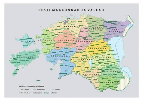 Eesti omavalitsused