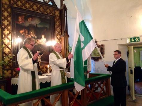 Lääne-Nigula valla lipu õnnistamine