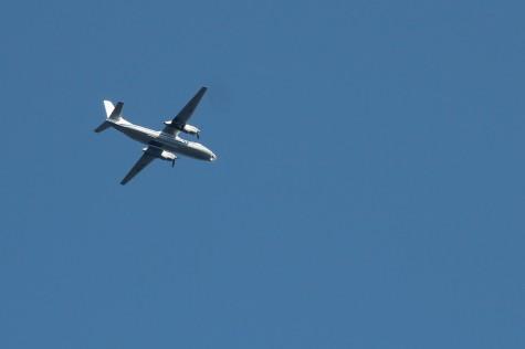 avatud taevas vene lennuk