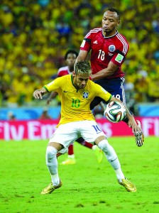 (SP)BRAZIL-FORTALEZA-WORLD CUP 2014-BRAZIL VS COLOMBIA