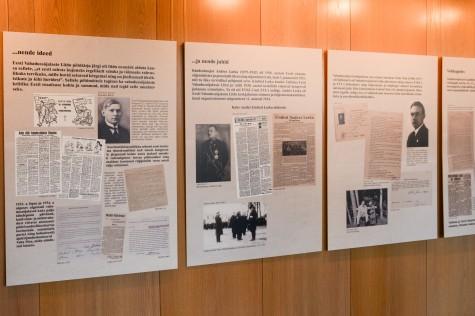 Vabadussõjalaste näitus. Merilin