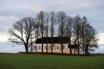 2013. aasta võidutöö: Vara Brigitta kirik 1855. aastast. Autor: Janno Loide