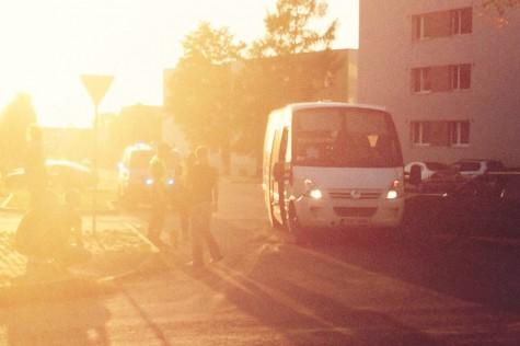 Bussi ja sõiduauto kokkupõrge Silver Raidla
