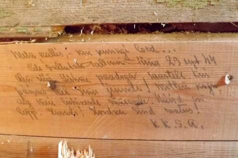 Saunja kiri 70 aastat tagasi