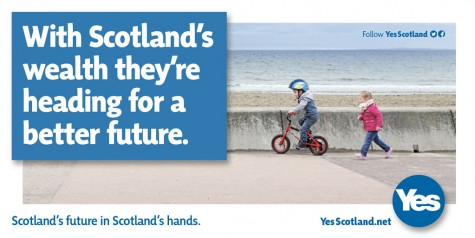 yes-scotland-heading-for-a-better-future-poster-children-beach