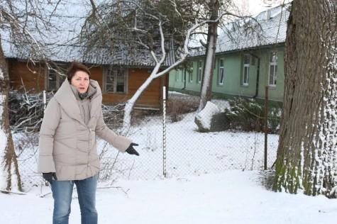 Lõuna-Läänemaa tervishoiu- ja sotsiaalhoolekandekeskuse juhataja Vanda BirnbaumFoto Olev Mihkelmaa