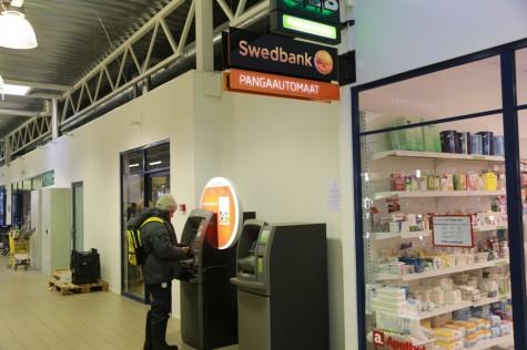 Swedbanki automaat Uuemõisas