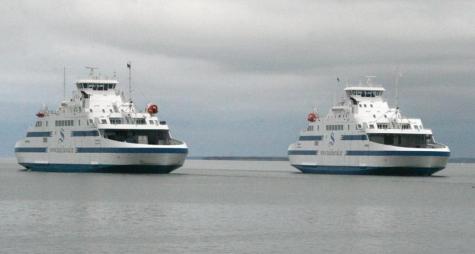Parvlaevad Muhumaa ja Hiiumaa. Foto: Urmas Lauri