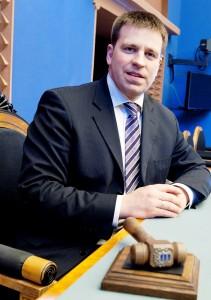 Jüri Ratas, Riigikogu saal