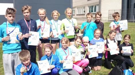 Noored mitmevõistlejad