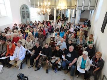 Vaimuliku laulupeo proov Jaani kirikus