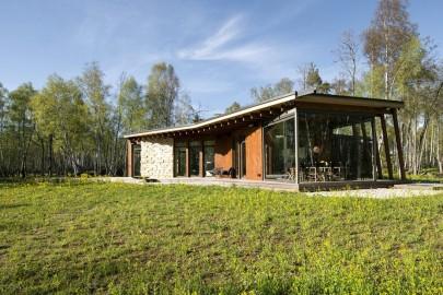 Aasta puitehitise kandidaat eramu-suvila Läänemaal