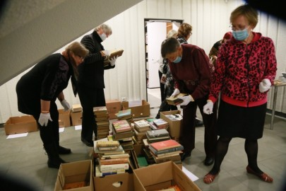 Vabatahtlikud raamatukogus06. Tarmula