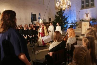 Jõulujumalateenistus Haapsalu toomkirik20. Tarmula