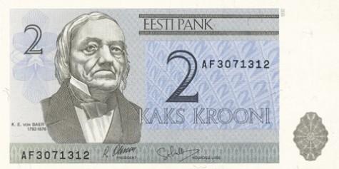 Kahekroonine rahatäht