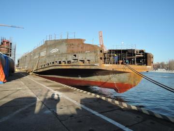 Parvlaeva Piret veeskamine Poolas
