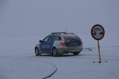 politsei lumi auto