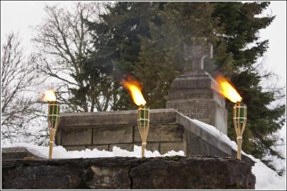 20130103. Vabadussõjas võidelnute mälestamine Kull