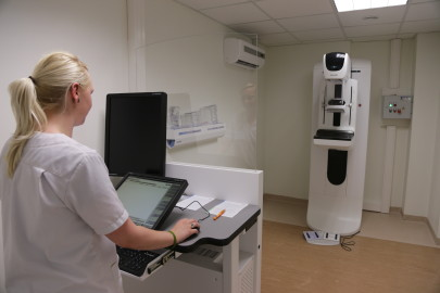 mammograaf haigla