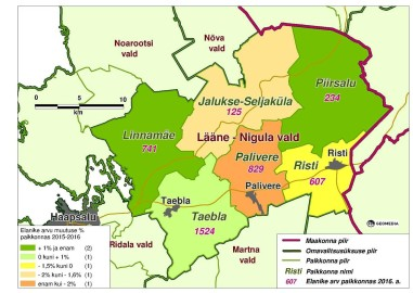 Lääne-Nigula rahvastik
