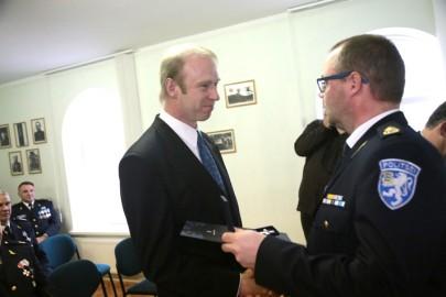 Politsei teenetemärgid (02). Tiit Niinemets. Tarmula
