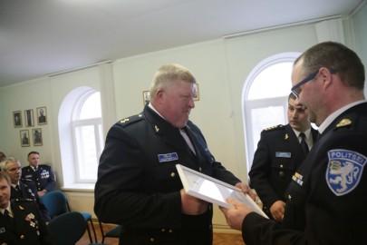 Politsei teenetemärgid (10). Vichterpal Tarmula