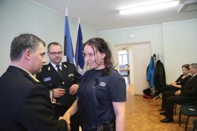 Politsei teenetemärgid (12). Marite Oidjärv. Tarmula
