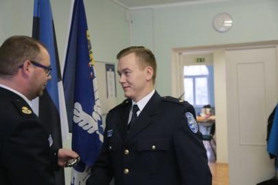 Politsei teenetemärgid (18). Ahti Jõema Tarmula